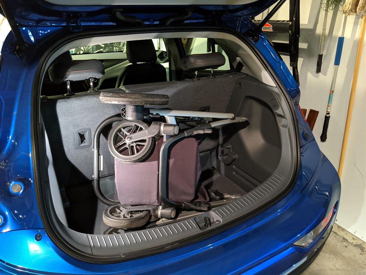 Stroller In Trunk Chevy Bolt Ev Forum