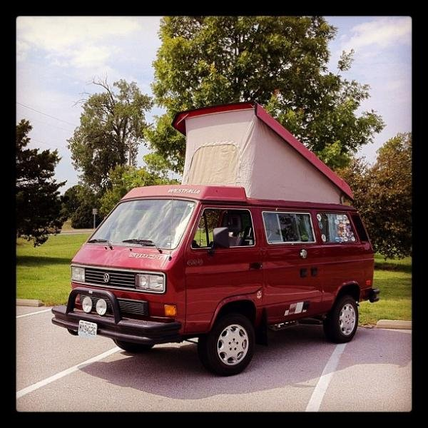 Showcase cover image for StL_Turkis380's 1987 Volkswagen Vanagon Syncro Westfalia