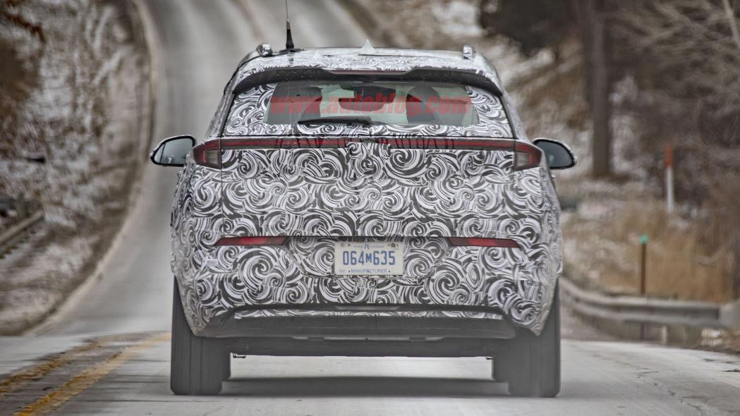 Chevrolet Bolt Euv Interior Spy Shots Chevy Bolt Ev Forum