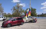 Towing a small sailboat with a 2017 Bolt