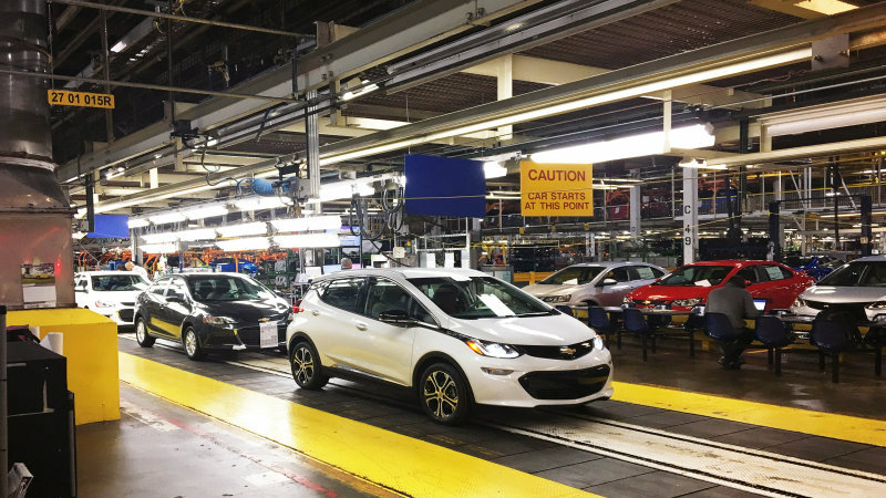 Gm Temporarily Shuts Down Bolt Production Plant Chevy Bolt Ev Forum